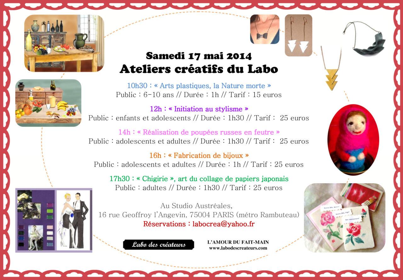 ateliers mai 2014